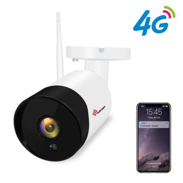 Câmera de segurança 4G LTE ao ar livre