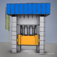 Presse hydraulique en fibre de verre
