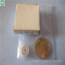Couleur en céramique de pleins porteurs de Mr74 Zro2 de couleur blanche 4 * 7 * 2mm