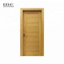 Porta principal de madeira maciça barata para villa