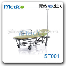 High Quanlity Stainless Steel Hospital Trolley Bed For Sale ST001