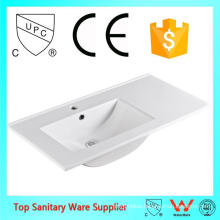 high quality ceramic left side basin sink