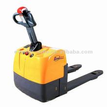Mini gato de plataforma eléctrico accionado pallet gato batería pallet truck jack con CE
