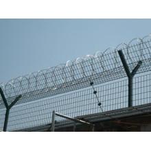 Hochfeste verzinkte Rasiermesser Stacheldraht Gefängnis Gefängnis Zaun