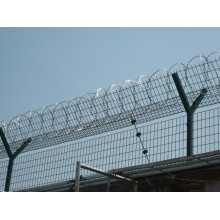 High Tensile Galvanized Razor Barbed Wire Jail Prison Fence