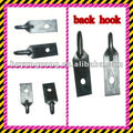 flat steel hook/parallel link/back hook/electric power line fitting/construction hardware fitting