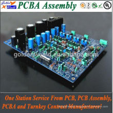 smt & dip pcb assembly with switches and RGB LEDs pcba pcb