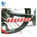 Bike Frame Chain stay Protector Black Large