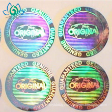 Tamper Proof Anti-counterfeit 3D custom hologram sticker