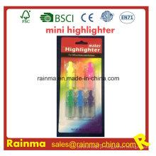 Mini Highlighter engraçado para artigos de papelaria
