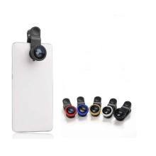 3-in-1 Clip-on Cell Phone Camera Lens