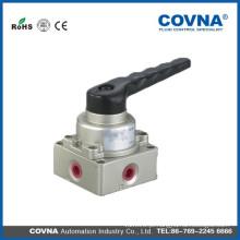 Válvula pneumática de mão e pé Válvula mecânica com preço