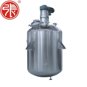 Continuous Agitated Jacketed Tank Reactor