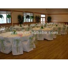 couverture de chaise, housse de fauteuil polyester CTV586, tissu épais 200GSM, durable et facile de mariage lavable