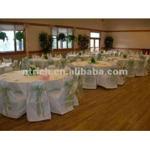 wedding chair cover,CTV586 polyester chair cover,200GSM thick fabric,durable and easy washable