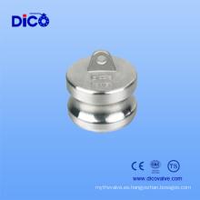 Conector de acoplamiento rápido Camlock Groove (tipo DP)