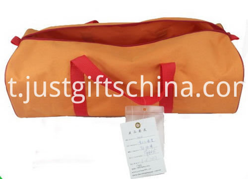 Custom Discount Duffel Bags - Barrel Shaped (2)
