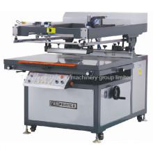 Tmp-90120-B oblíqua Arm Tela Plana Máquina de Impressão T-Shirt Têxtil Ce Screen Printer