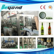 Glass Bottle Beer Washer Filler Capper Line