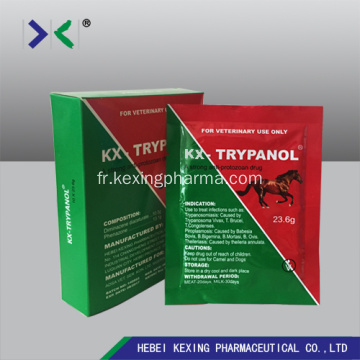 Diminazene Diaceturate et Antipyrine Injection 2.36g