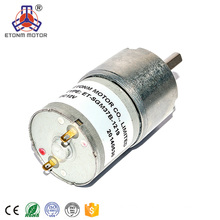 37mm Micro Gear Motor for Robot and Vending Machines
