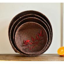 (BC-ST1074) Хорошее качество чисто ручной корзины соломы