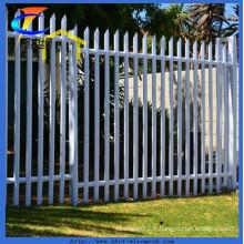 Clôture de palissade enduite de poudre galvanisée (ISO9001: 2008)