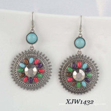 Fashion Earring/Gem Earring/Bohemian Earring (XJW1432)