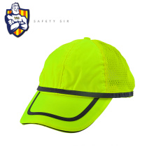 Professional design Summer Breathable Reflective fluorescent safety hat