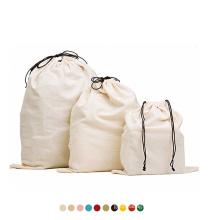 2021 Popular Custom logo Bathroom Wash Underwear Travel Storage Laundry Bag Canvas Large Laundry Bag