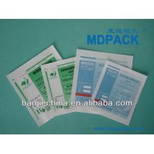 papel de esterilización / bolsa compleja de aluminio / plástico para contener líquido