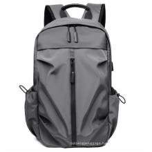 Mens Travel Business Laptop Gift Backpack with USB Charging Port