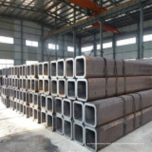 Boa Qualidade-Seamless Carbono Quadrado Preto Q235 Tubo De Aço
