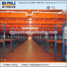 Steel warehouse sectional platform shelf