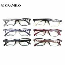 Gafas ópticas de diseño de la marca de moda TR90 Italia.