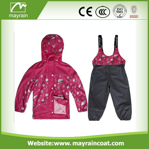 Waterproof Ski PU Rainsuit