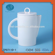 eco-friendly ceramic tea pot supplier,hotel usage tea pot,white ceramic teapot personalized