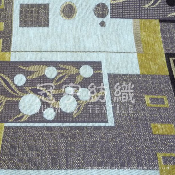 Home Decoration Jacquard Chenille Polyester and Acrylic Fabric