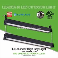 DLC aparece 200 vatios LED pasillo encendedor alta bahía