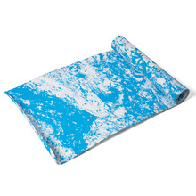 factory manufacturer cheap price blue cloud cheap custom camouflage camo  fitness non slip thick 1/2 inch anti-slip yoga mat