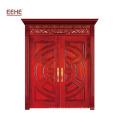 Главная дверь Малайзии проектирует двойную деревянную дверь