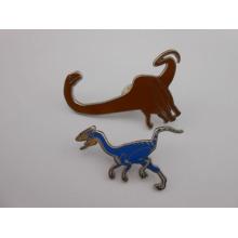 Pin à revers personnalisé, fabricants de badges, badge à l'émail de dinosaures (GZHY-KA-088)