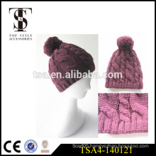 design your own winter hat beautiful ladies thick winter hat made in china