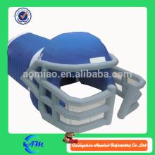 Túnel inflável de capacete de futebol inflável para publicidade