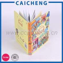 libro de niños de diseño moderno