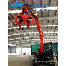 Different Excavator Grab Steel Scrap Grab