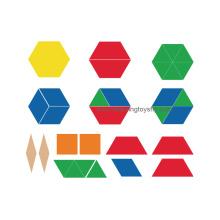 Plastic Pattern Blocks for Fraction Learning (K003)