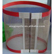 Tecidos de malha aberta revestidos com PTFE