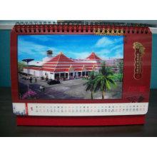 2015 China Red 3D Calendar Printing