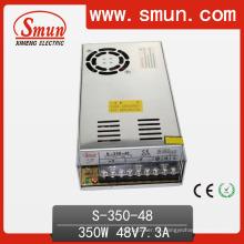 S-350-48 110V / 220V Entrada 350W 48V 7.3A Salida Fuente de alimentación conmutada
